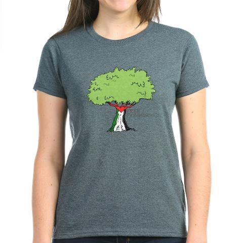 free_gaza_dove_design_t-shirt_charcoal